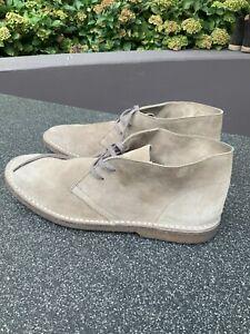 J.CREW J. CREW Tan Men's Suede Lace Leather Boots Shoes Gum Sole Size 13 D 13D