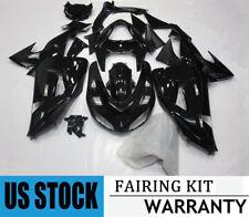 Glossy Black Fairing Kit for Kawasaki Ninja ZX10R 2006 2007 ABS Bodywork ZX-10R