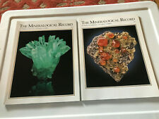 Mineralogical Record, 2015, two issues