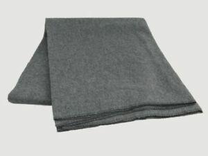 British Military Grey Wool Blanket