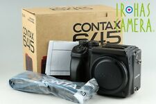 Contax 645 Medium Format SLR Film Camera (Body Only) With Box #11672E1