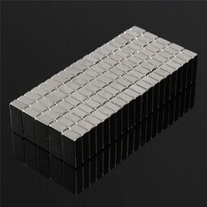 10pcs Cuboïde Permenent Utilitaire Aimant Rare Terre N52 Aimants 10