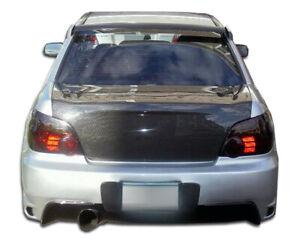 02-07 Subaru Impreza 4DR OEM Carbon Fiber Creations Body Kit-Trunk/Hatch 102885