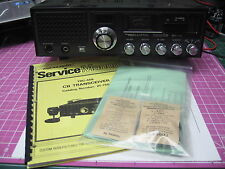 Realistic TRC-457/TRC-458/TRC-449 Service Manual & PREMIUM Cap Kit (PC-196BD)
