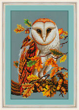 Counted Cross Stitch Kit GOLDEN HANDS - In autumn oak