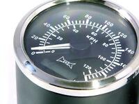 GPS Analogue Speedometer for Motorbike Billet Aluminium - High Quality