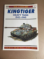 OSPREY NEW VANGUARD 1 - KINGTIGER HEAVY TANK 1942-1945