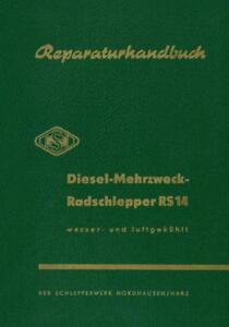 Reparatur Famulus RS14 RS 14 Nordhausen IFA DDR Werkstatthandbuch