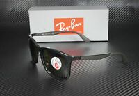 RAY BAN RB4313 601 9A Black Polarized Green 58 mm Men's Sunglasses