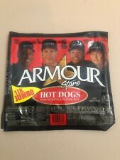 2002 Armour Stars 🌭 Hot Dog Wrapper 🌭 Bonds 🌭 A-Rod 🌭 Alomar 🌭 Clemens