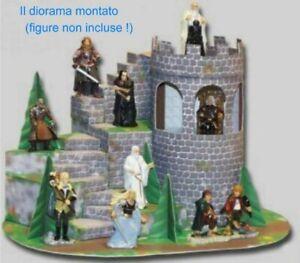 Kinder Diorama Allemand Felsentreppe Set Seigneur Anneaux Lord Rings Bastelbogen