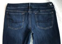 American Eagle Outfitters Artist Low Rise Flare Denim Blue Jeans size 18 x 30