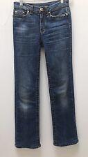 Blue Roberto Cavalli Women's Straight Leg Classic Jeans - Size 38