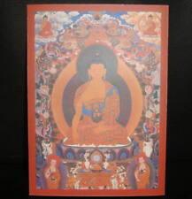 Charm Tibetan Buddhist Guru Buddha Statue! Thangka print card! Prayer Tsakli!