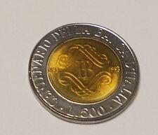 Varietà L. 500 della Banca d' Italia