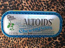 ALTOIDS Wintergreen Chewing Gum (1 Sealed Collectors Tin)