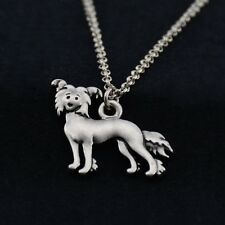 Cartoon Chinese Crested Pendant Necklace Animal Rescue Donation