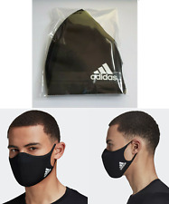 Adidas Face Mask 1 Adult M/L Black Unisex Authentic (New) Htf Ships Now