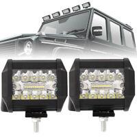2 Pcs 200W LED LUCE FARO 12V 80V LAMPADA DA LAVORO FARETTO AUTO BARCA CAMION SUV