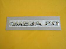 Schriftzug Emblem OMEGA 2.0  chrom Omega B ORIGINAL OPEL 5177015