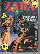ZARA 100 LA PRISONNIERE DE DRACULA   ELVIFRANCE  1984