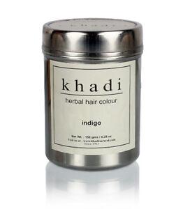 Khadi Natural Herbal Indigo Hair Colour 150gm