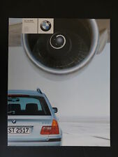 BMW 3  SERIES TOURING  YEAR 2000 SALES BROCHURE