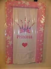 """NEW BABY DELUXE PADDED CHANGING MAT  SOFT & COMFORTABLE raised edge """"PRINCESS"""""""