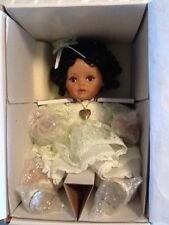 "New Marie Osmond "" Iiiana "" picture day series porcelain doll - Mib- Htf"