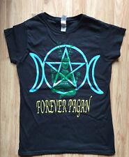 Cernunnos Triple Moon Forever Pagan Goddess T shirt MEDIUM size soft Style