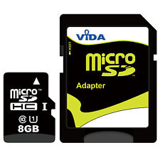 New Vida IT 8GB Micro SD SDHC Memory Card For Garmin nuvi 65 66 In-Car Sat Nav