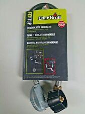 "New Char-Broil 20"" Propane Hose & Regulator Universal Fits Most Brands"