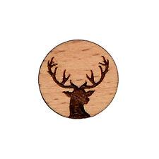Deer Wood Lapel Pin