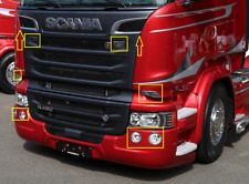 Scania Truckstyling Chrome Cover Set Stainless Steel