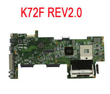 For ASUS K72F A72F X72F Laptop Motherboard Mainboard REV2.0 HM55 100% Tested