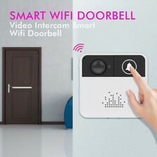Wireless Doorbell WiFi Video Security Camera Door Bell Phone Remote Control Bell