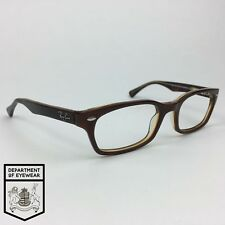 6b1b823126f RAY BAN eyeglass TORTOISE RECTANGLE EYEGLASS FRAME Authentic. MOD  RB 5150