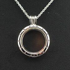 ORIGINALE Pandora MEDAGLIONE 590529-60 con catena/ciondolo per Set medaglione