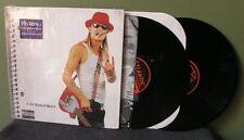 """Kid Rock """"The History Of Rock"""" 2x LP Orig OOP In Shrink Korn Limp Bizkit"""