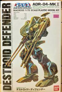 Bandai Robotech Macross 1/72 Robot Destroid ADR-04 Mk X Defender model kit