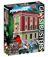 PLAYMOBIL GHOSTBUSTERS 9219 CUARTEL PARQUE DE BOMBEROS +6 AÑOS