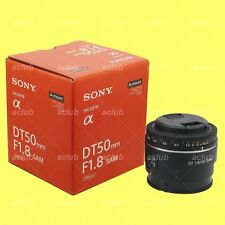 Genuine Sony DT 50mm f/1.8 F1.8 SAM Lens SAL50F18 for Alpha DSLR A-mount