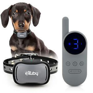 eXuby - Tiny Shock Collar for 5-15lb Small Dogs  - Smallest Collar on the Market