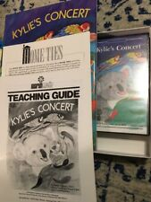 Kylie's Concert Book VHS Home School Lesson Plans Educational Kit Marsh Media