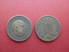 1 PESETA FRANCO 1947-52 BC ESPAÑA