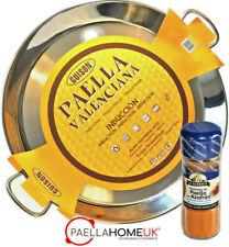 STAINLESS STEEL PAELLA PAN 50cm INDUCTION & VITROCERAMIC + PAELLA GIFT