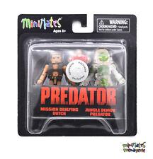 Predator Minimates TRU Toys R Us Wave 5 Mission Briefing Dutch & Jungle Demon