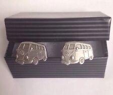 VW Camper Van Cufflinks - Gift Present Best Man Wedding SALE