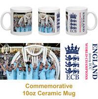 England Cricket World Champions 2019 commemorative personalised 10oz ceramic mug