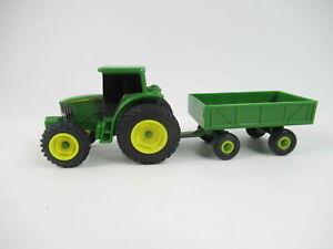 TOMY John Deere Toy Truck & Toy Tractor Green, Yellow Diecast Plastic